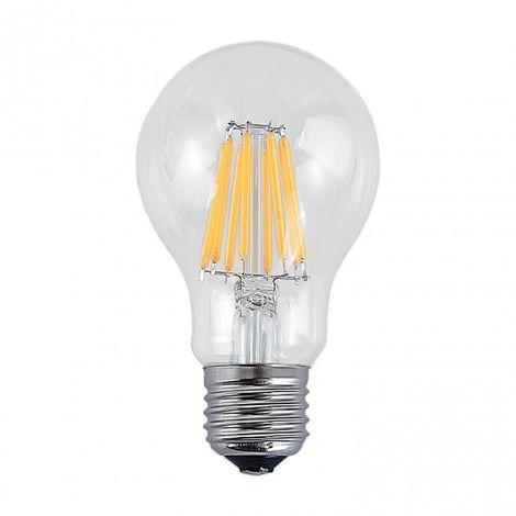 LuzConLed - Bombilla decorativa filamento LED E27 10W 2700k - Envío Desde España