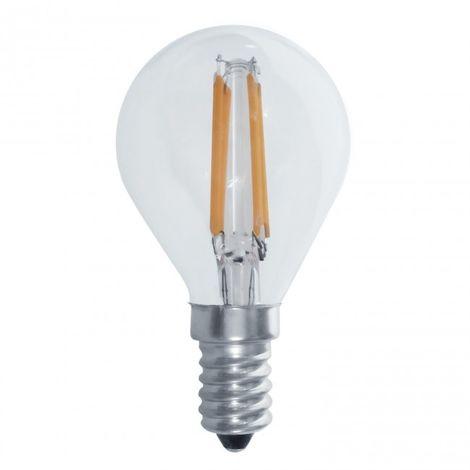 LuzConLed - Bombilla Decorativa filamento LED G45 E14 6W 3000K - ENVÍO DESDE ESPAÑA