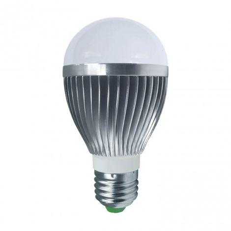 LuzConLed - Bombilla E27 LED con mando RGB - Envío Desde España
