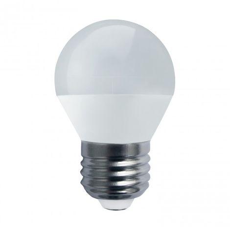 LuzConLed - Bombilla esfera LED E27 5W 4000K - Envío Desde España