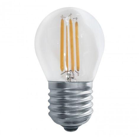 LuzConLed - Bombilla filamento LED Decorativa E27 6W 2700k - Envío Desde España