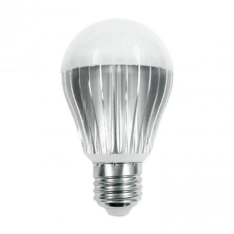 LuzConLed - Bombilla LED E27 aluminio 6W 2700K - Envío Desde España