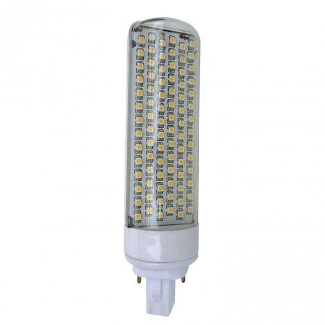 LuzConLed - Bombilla LED G24 LED 6W 2700k - Envío Desde España