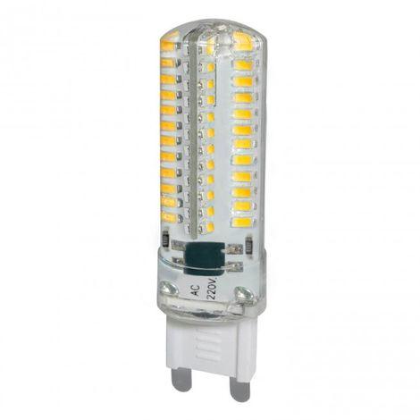 LuzConLed - BOMBILLA LED G9 5W 4500k RESINA 6500K - Envío Desde España