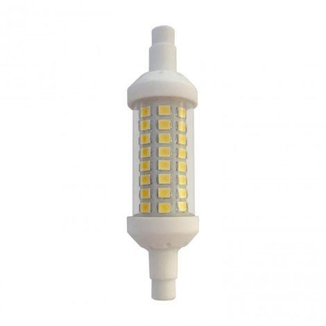LuzConLed - Bombilla LED R7S 78 mm Regulable 6W 4000K - Envío Desde España