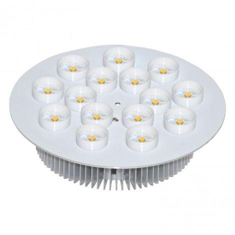LuzConLed - Disco de LED 15W 2700K con driver - Envío Desde España