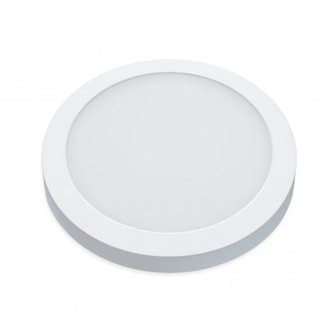 LuzConLed - Downlight de Superficie 18W LED circular color blanco 4000k - Envío Desde España