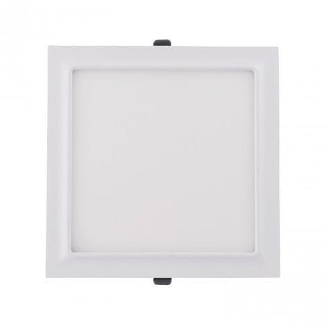 LuzConLed - Downlight LED moldura cuadrado 20W 4000k blanco - Envío Desde España