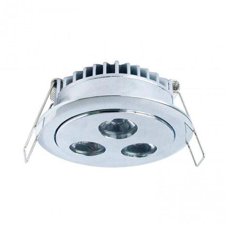 LuzConLed - Ojo de Buey 3 LED 5W Luz blanca - Envío Desde España