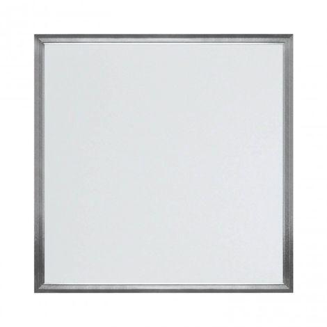 LuzConLed - Panel LED cuadrado 595 x 595 mm 48W 4000K Aluminio Cepillado - ENVÍO DESDE ESPAÑA