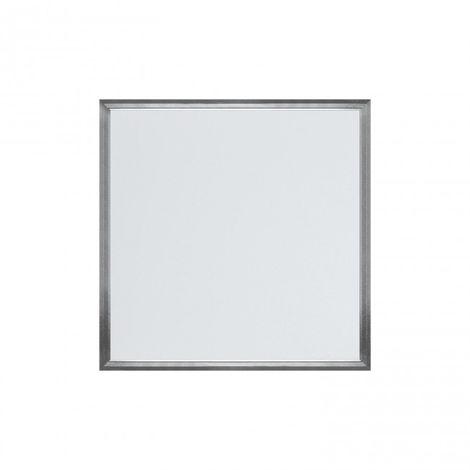 LuzConLed - Panel LED Cuadrado 595x595mm 48W 6000K Aluminio Cepillado - ENVÍO DESDE ESPAÑA