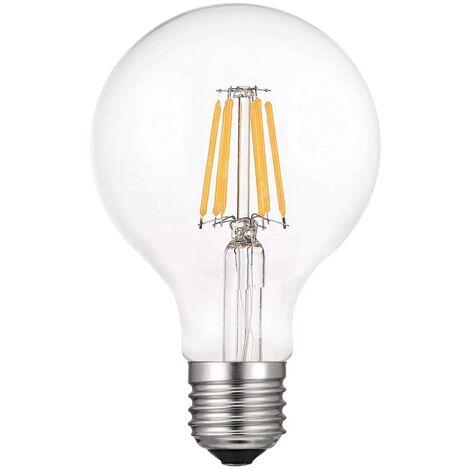 LÚZETE - BOMBILLA LED E27 G95 8W 4000K REGULABLE