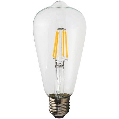LÚZETE - BOMBILLA LED E27 ST64 8W 4000K REGULABLE