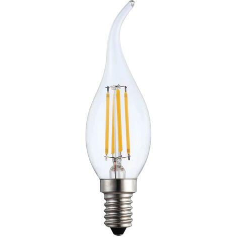 LÚZETE - BOMBILLA VELA LED FILAMENTO E14 6W 2700K