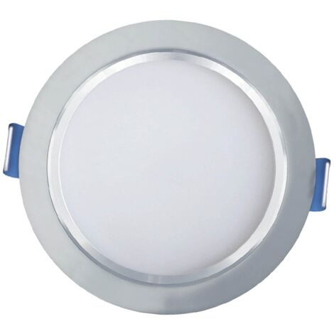 LÚZETE - OJO DE BUEY LED PLATA 7W 3000K