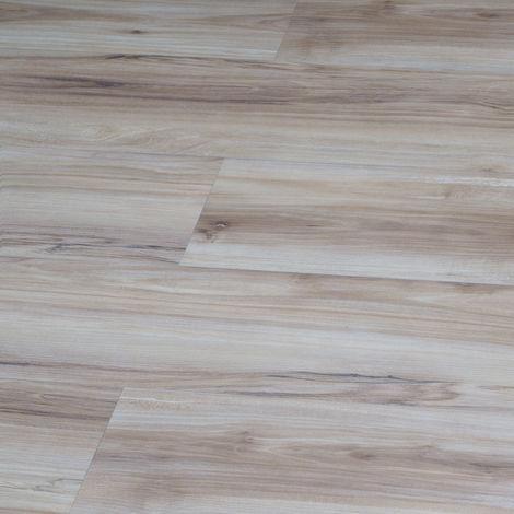 LVT uniclic Champagne Oak 172mm x 1210mm Luxury Vinyl Bathroom Floor Tiles