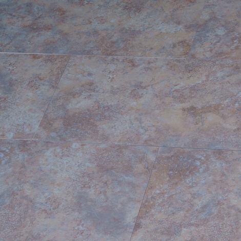 LVT uniclic Champagne Stone 300mm x 600mm Luxury Vinyl Bathroom Floor Tiles