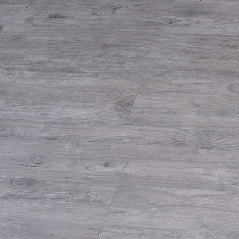 LVT uniclic Grey Oak 172mm x 1210mm Luxury Vinyl Bathroom Floor Tiles