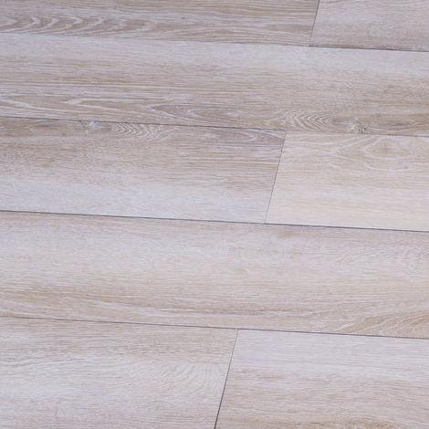 LVT uniclic Natural Oak 172mm x 1210mm Luxury Vinyl Bathroom Floor Tiles