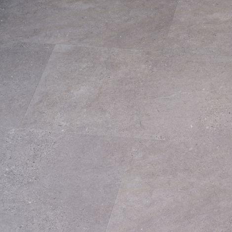 LVT uniclic Perlato Stone 300mm x 600mm Luxury Vinyl Bathroom Floor Tiles