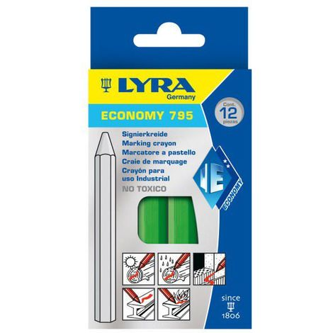 LYRA 12PC CRAIE FRAP 795 GREEN