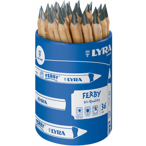 Lyra 1813360 Ferby Graphite Pencils Pot 36