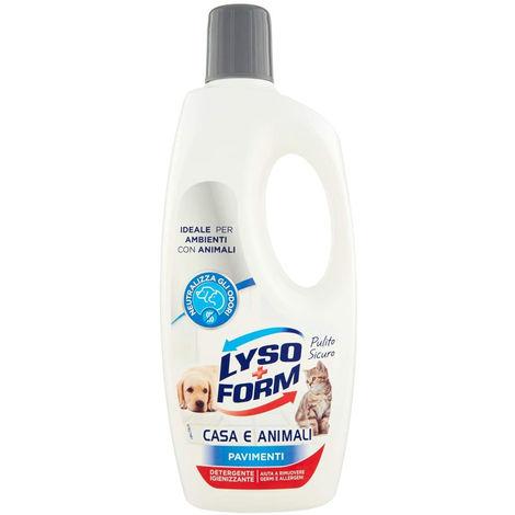 Lysoform Detergente Igienizzante 700 ML Pavimenti Casa e Animali
