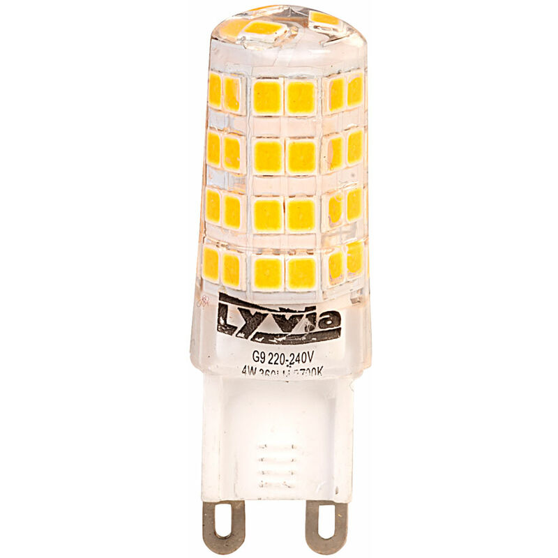 Image of LyvEco 3644 G9 LED Bulb Warm White 4W 360lm 2700K