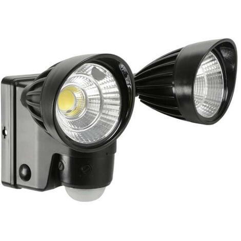 Lyyt Battery Powered Motion Sensor Twin LED Floodlight
