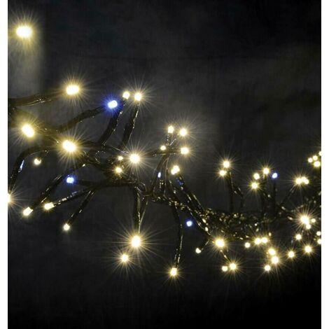 Lyyt LED 2.5M (+5M Lead) Cluster String Lights Twinkle Effect Warm White