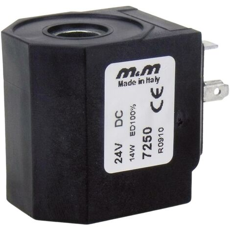 M & M International Spule 7250 24 V/DC (max) 1St. S62108