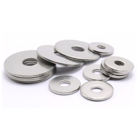 Pack 210pce Flat Fixman 935619 Assorted Steel Washers M5-m10 210-piece Set