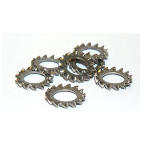 """main image of """"M10 Shakeproof washer A4 Stainless Steel DIN6798"""""""