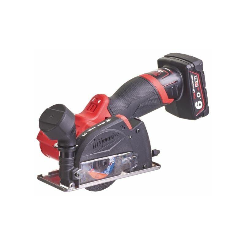 Image of Milwaukee Power Tools - M12 FCOT-622X FUEL™ Cut Off Tool Kit 12V 1 x 2,0Ah & 1 x 6,0Ah Li-ion (MILM12FCOT6X)