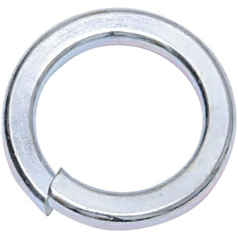 M16 Bright Zinc Spring Washers Din7980 (250 Pack)