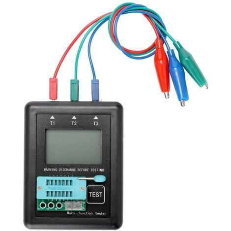 M328 Diode Triode Condensateur Résistance Transistor Testeur ESR Mètre Multi-Fonction Transistor Testeur avec Test Board
