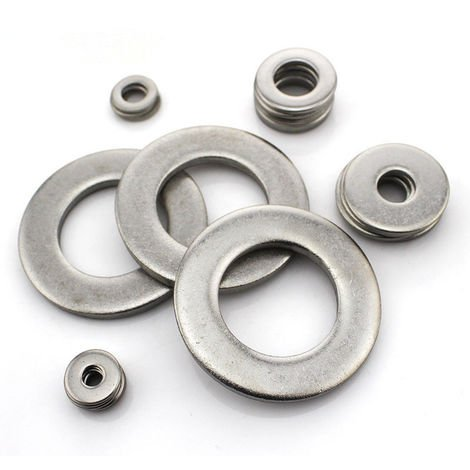M4 A4 Stainless steel FLAT WASHER DIN125