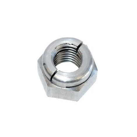 100 Pieces M5 316 Stainless Steel Metric Thread Nyloc Nut Nylon Lock Nut