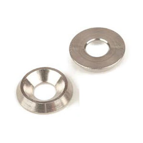 M6 Solid Screw Cup Finishing Washers - T316 (A4) Marine Grade Stainless Steel