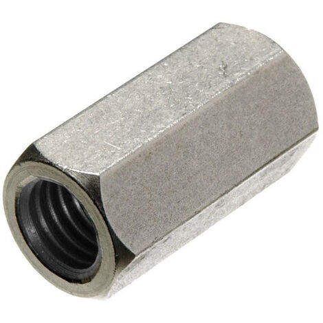 """main image of """"M6 Tiebar Connector - BZP - Coupling Nut DIN 6334"""""""