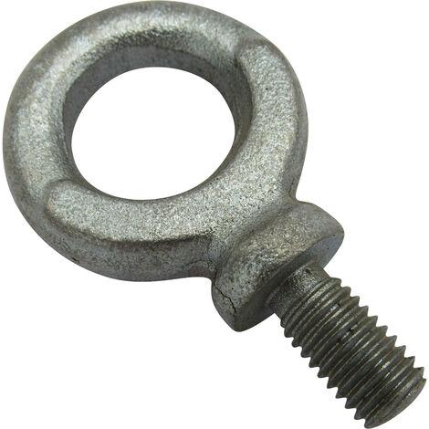 M8 0.15 Ton Zinc Plated Dynamo Eyebolt - 150KG Metric Eye Bolt