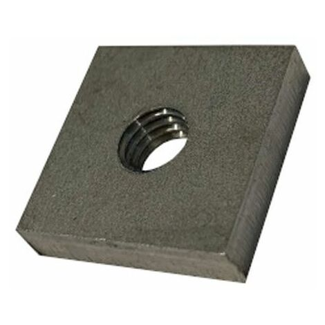 """main image of """"M8 T304 / A2 Stainless Steel Square Nut"""""""