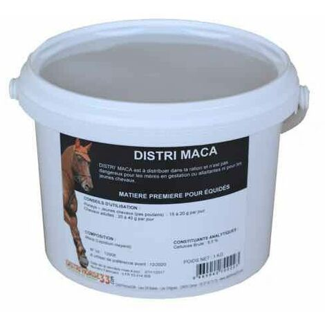 Maca Cheval - Musculature Cheval - Contenance: 500 gr