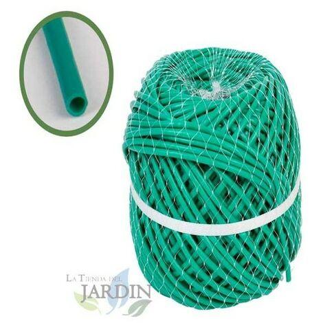 Macarrón PVC verde 145 metros