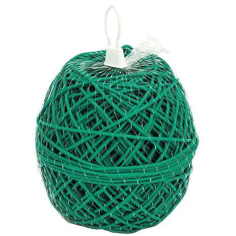 Macarrón PVC Verde Atado Plantas, Entutorado, Guia para Viñas y Cultivos - 1 kg
