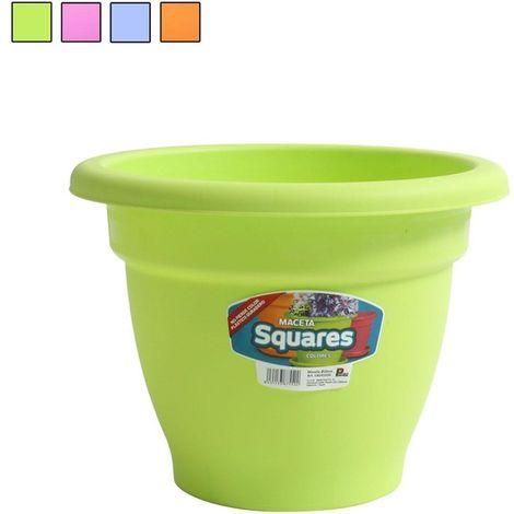 Maceta 14cm Squares - Colores Surtidos