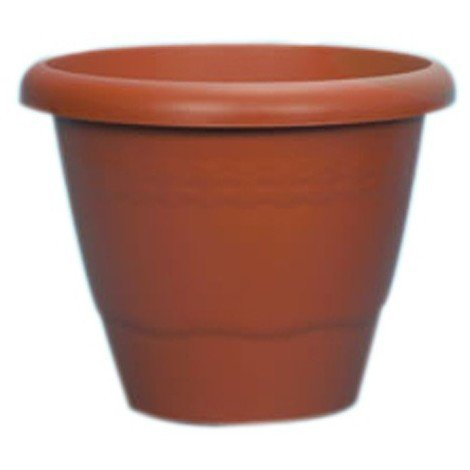Maceta Plástico color Terracota Gardenia - - 509082 - 18 CM
