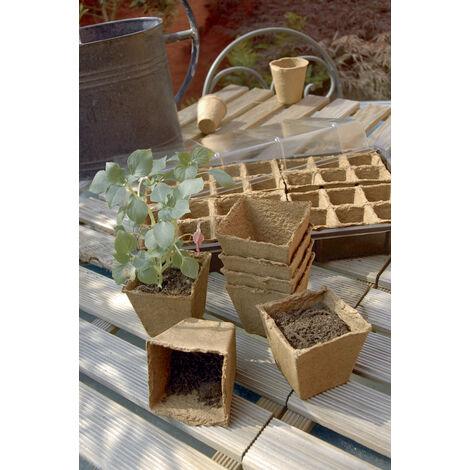 Macetas turba NORTENE Growing Pot (20) 6x6 cm MA