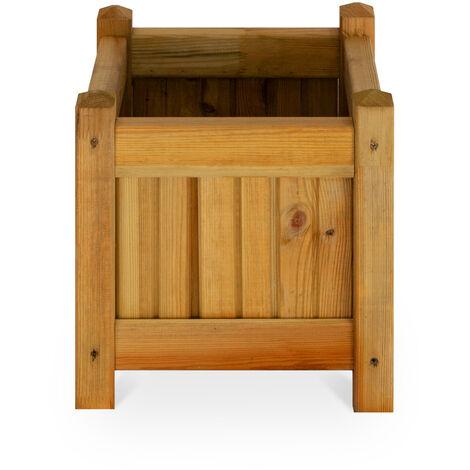 Macetero de madera - 30x30cm