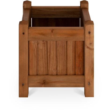 Macetero de madera - COLOMBO 30x30cm